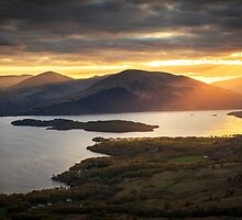 View from Conic Hill by NeilBarr