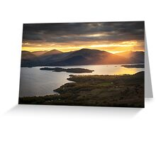 View from Conic Hill Greeting Card