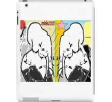 the lamb and the eagle - ruffled feathers and torn pages 5 iPad Case/Skin