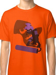Violet Male Inkling - Sunset Shores Classic T-Shirt