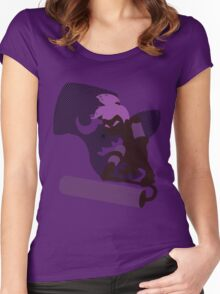 Violet Male Inkling - Sunset Shores Women's Fitted Scoop T-Shirt