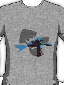 Light Blue Female Inkling - Sunset Shores T-Shirt