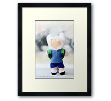Finn the Human inspired plush Framed Print