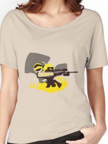 Yellow Male Inkling - Sunset Shores Women's Relaxed Fit T-Shirt