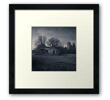 Storbyn Hudiksvall Framed Print
