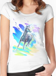 Color Horse Women's Fitted Scoop T-Shirt