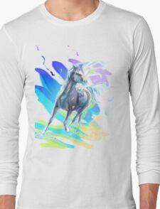 Color Horse Long Sleeve T-Shirt
