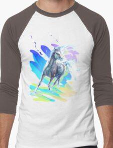 Color Horse Men's Baseball ¾ T-Shirt