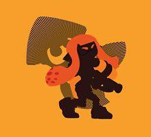 Orange Female Inkling - Sunset Shores Unisex T-Shirt