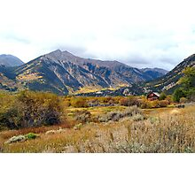 Awesome Color near Twin Lakes, Colorado Photographic Print