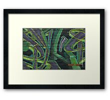 Terrace Street Wall Art Framed Print
