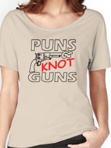 PUNS KNOT GUNS Women's Relaxed Fit T-Shirt