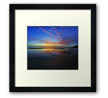 Shorncliffe sunrise Framed Print