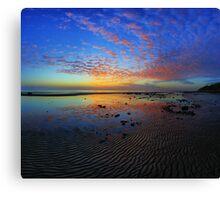 Shorncliffe sunrise Canvas Print