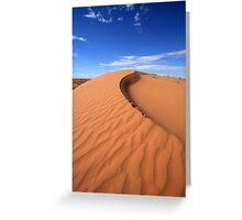 Sand Dune, Simpson Desert, Australia Greeting Card