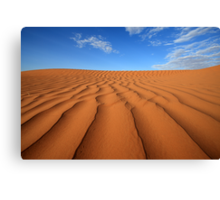 Sand Dune Ripples, Simpson Desert, Australia Canvas Print
