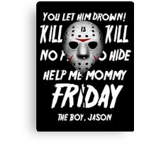 Jason Float Canvas Print
