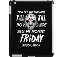 Jason Float iPad Case/Skin