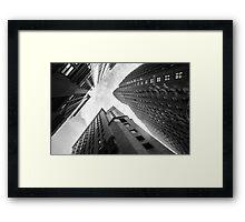 Head up Framed Print