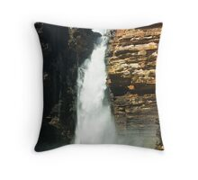 King George Falls Throw Pillow