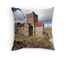 St Mary in Castro church Throw Pillow
