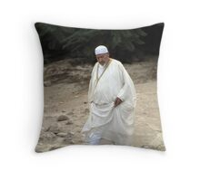 New cloths for the feast Throw Pillow