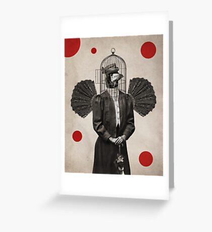 Anthropomorphic N°18 Greeting Card