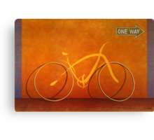 One Way 2 Canvas Print