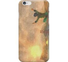 Yoga face to the Sun - 瑜伽面对太阳 iPhone Case/Skin