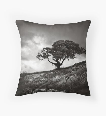 A tree Throw Pillow