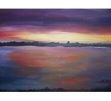 The purple sunset by Monika Howarth Photographic Print