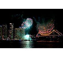 Festival Fireworks Photographic Print