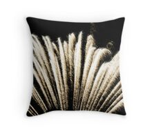 Fan Tails Throw Pillow