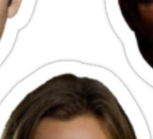 Sam, Dean, and Castiel Sticker