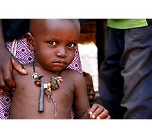 Child of the Village Photographic Print
