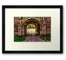 Kalemegdan Fortress Gate Belgrade Fine Art Print Framed Print