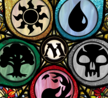 MTG - Stained Glass Sticker