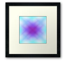 Blended Cool Colors Framed Print