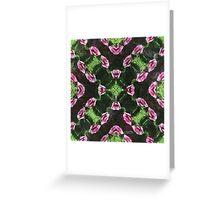 Rosas Moradas 2 Kaleidoscope 14 Greeting Card