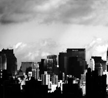 Manhattan Skyline by Mark Wilson