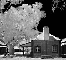 Old Telegraph Station - Alice Sorings by Hans Kawitzki