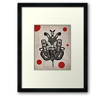 Anthropomorphic N°19 Framed Print
