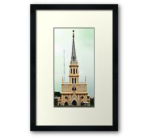 Holy Rosary Church, Chao Phraya River, Bangkok  Framed Print