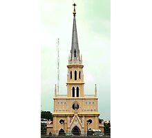 Holy Rosary Church, Chao Phraya River, Bangkok  Photographic Print