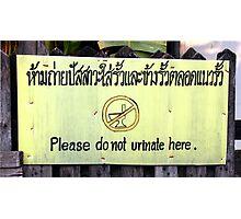 Chiang Mai, Bangkok Photographic Print
