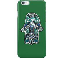 Tulane Hamsa iPhone Case/Skin