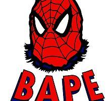 Bape Spidey by bradjordan412