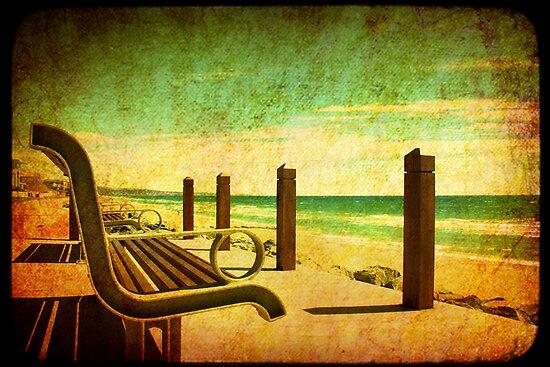adelaide brighton beach by Sonia de Macedo-Stewart