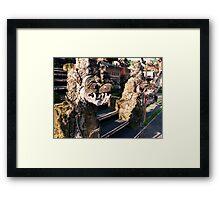 Nagas, School, Ubud, Bali Framed Print