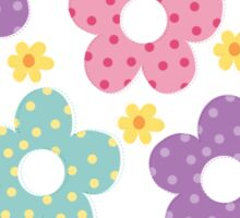 Dolly tender flowers Sticker